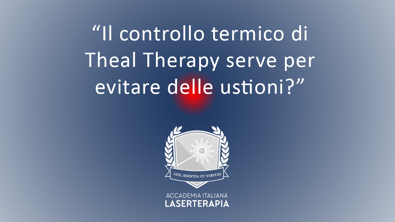 controllo termico laserterapia